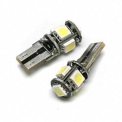 Car LED Bulb T10 W5W 5 SMD 5050 CAN BUS