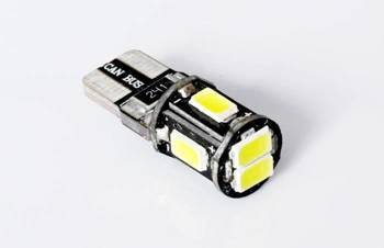 Car LED Bulb T10 W5W 6 SMD 5630 CAN BUS