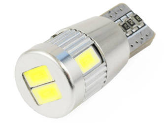 Car LED Bulb T10 W5W 6 SMD 5630 SUPER CAN BUS