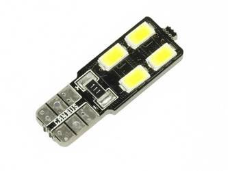 Car LED Bulb T10 W5W T10 4 SMD 5630 CAN BUS
