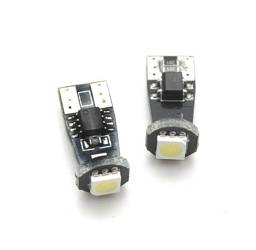 Car LED Bulb W5W T10 1 SMD 5050 CAN BUS