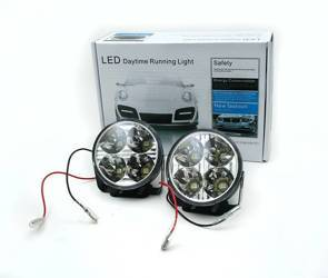 DRL 05 / Round ø70mm Daytime Running Lights with SMD 5050 diodes