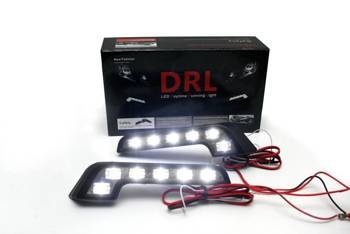 DRL 09 / L-shape Daytime Running Lights with FLUX diodes