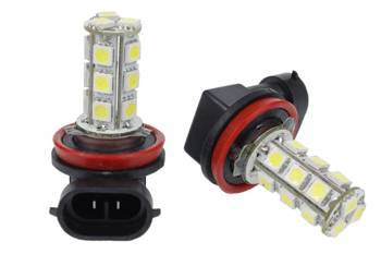 LED Halogen bulb H9 / H11 18 SMD 5050