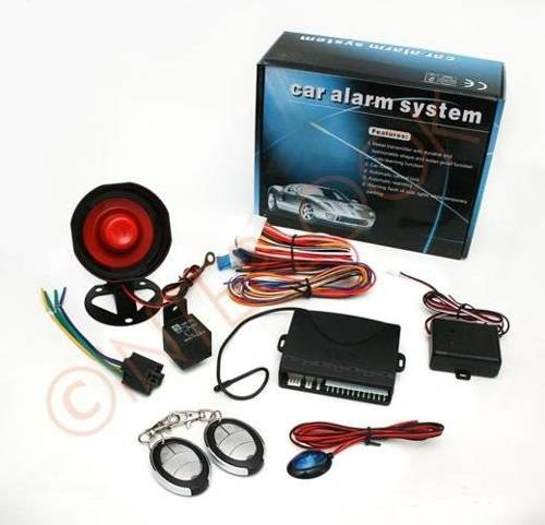 Alarm system with siren and 2 pilots