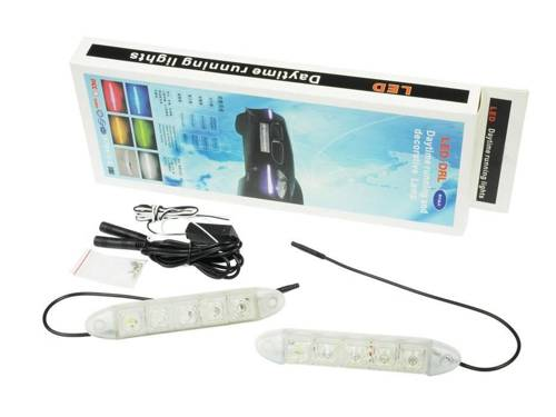 DRL 11 | Flexible Daytime Running Lights with HIGH POWER LED