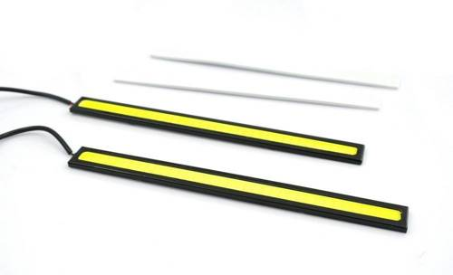 Matrix DRL COB Daytime Running Lights 2x 6W 17CM