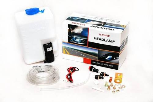 Spraying lamp / headlight kit