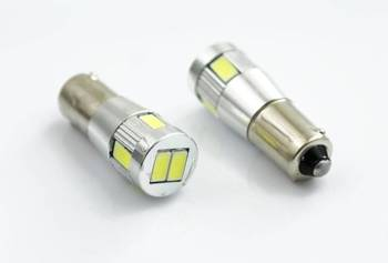 Auto LED-Birne BA9S 6 SMD 5630 POWER CAN BUS