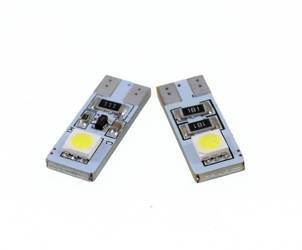 Auto LED-Birne T10 W5W 2 SMD 5050 CAN BUS Side-LEDs