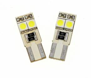 Auto LED-Birne T10 W5W 4 SMD 5050 Side-LEDs