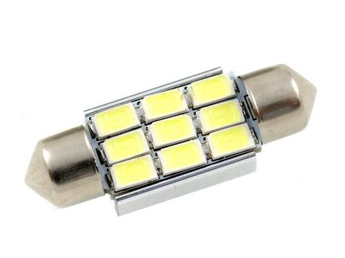 Auto LED-Birne C5W 9 SMD 5630 CAN BUS