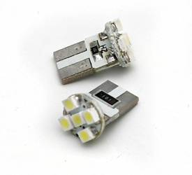 Car LED Bulb T10 W5W 5 SMD 3528 CAN BUS