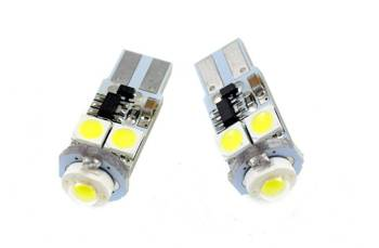 Car LED Bulb T10 W5W HIGH POWER + 4 SMD 5050 CAN BUS