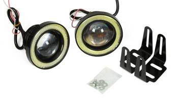 DRL 05 PREMIUM / Round ø70mm Daytime Running Lights with HIGH POWER LED