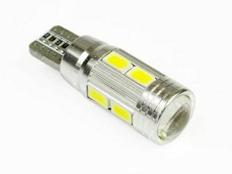 Car LED Bulb T10 W5W 10 SMD 5630 CAN BUS
