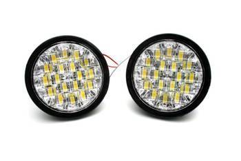 DRL 10 / Round ø90mm Daytime Running Lights