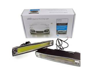 DRL 17 / Daytime Running Lights with COB diodes / 800 lm
