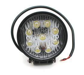 LED Working Lamp 9 X 3W Round