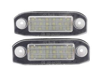 License plate LED bulb for  VW Touran, Caddy, Golf 5, Jetta, Passat B5/B6, Touran, Transporter, Skoda Superb