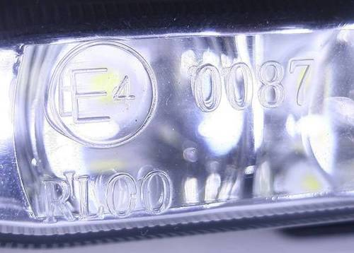 DRL 07 PREMIUM / Eliptic Daytime Running Lights with HIGH POWER LED