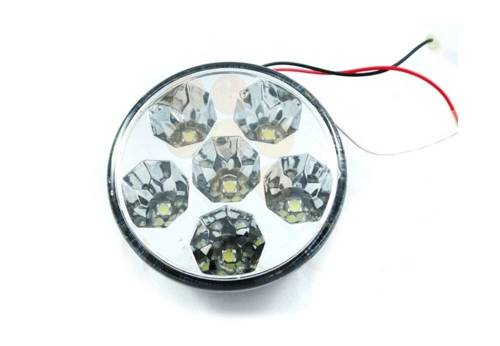 DRL 13 PREMIUM / Round ø90mm Daytime Running Lights with HIGH POWER LED
