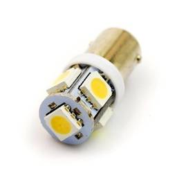 Auto LED-Birne BA9S 5 SMD 5050 CAN BUS Warmweiß