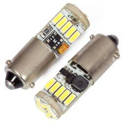 Auto LED-Birne LED BA9S 15 SMD 4014 No Polarity