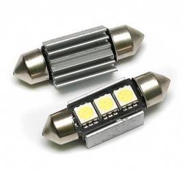 Auto LED-Birne C5W 3 SMD 5050 CAN BUS