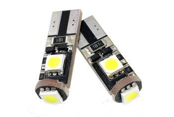 Auto LED-Birne T10 W5W 3 SMD 5050 CAN BUS