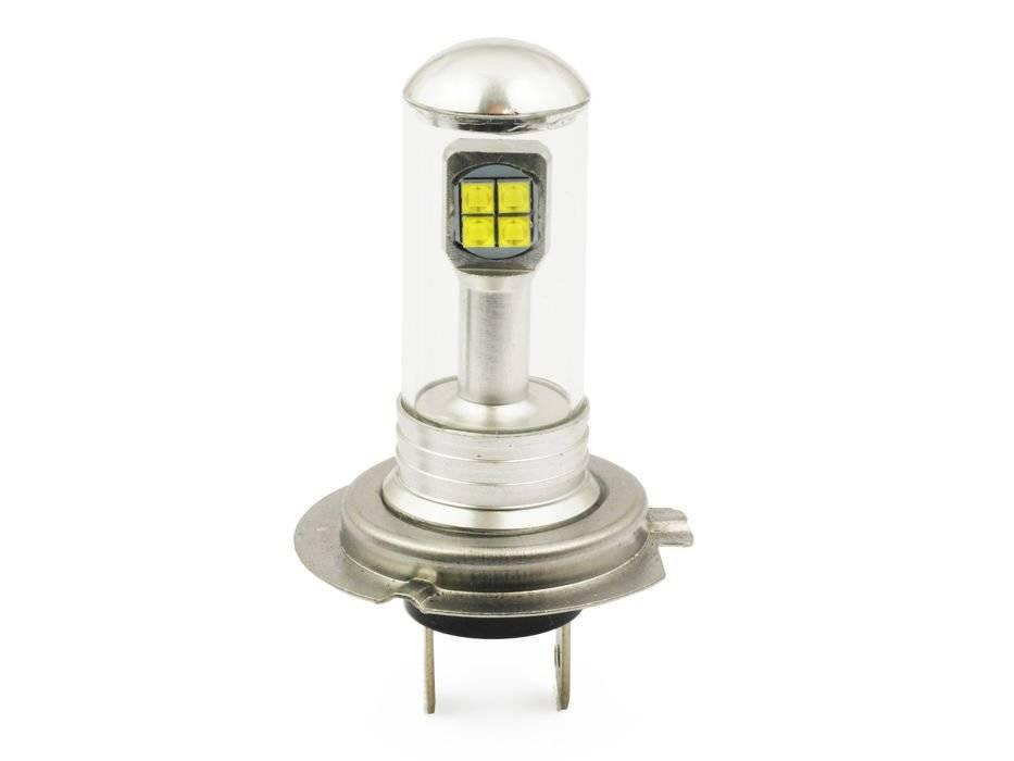 Led Lampen H7 : Abblendlicht lampe h7 c3 cob led 3600lm interlook