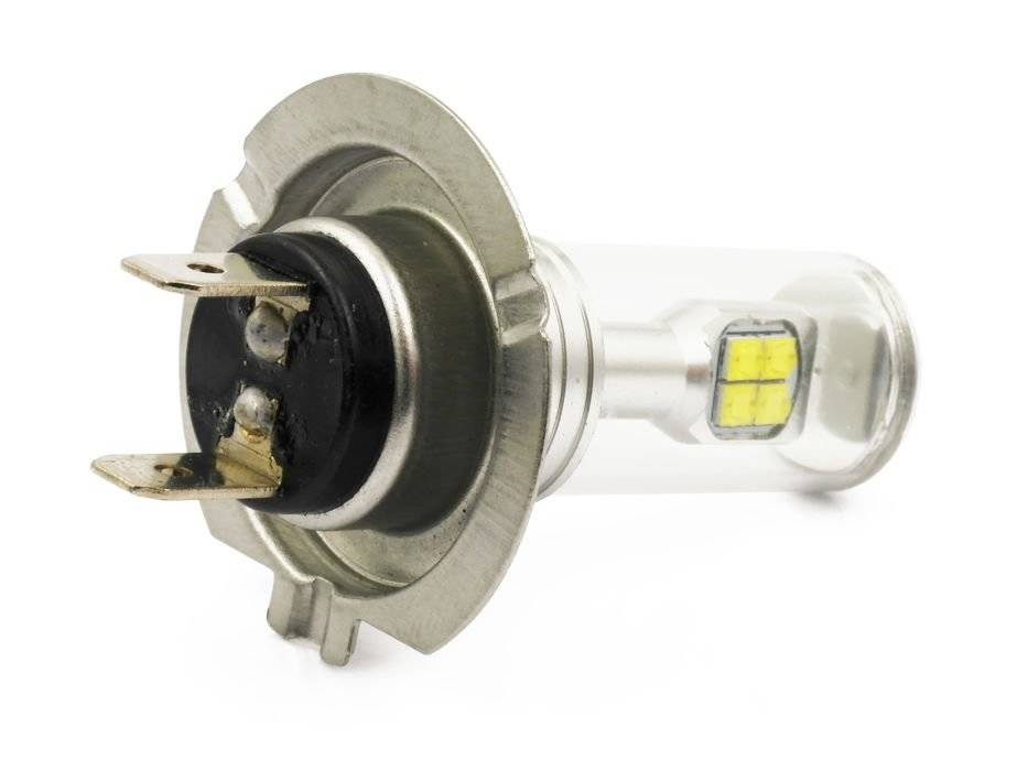 Led Lampen H7 : Abblendlicht lampe h7 c3 cob led 3600lm interlook