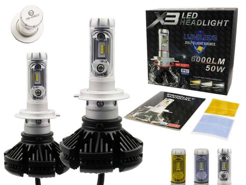 Led H7 Lampen : Abblendlicht lampe h cree r led lm interlook