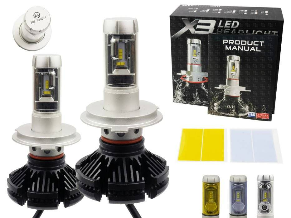 Led H7 Lampen : Abblendlicht lampe h cree r led lm interlook
