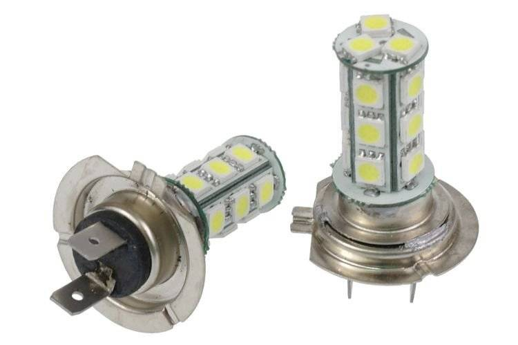 Led Lampen H7 : Auto led birne h7 18 smd 5050 interlook