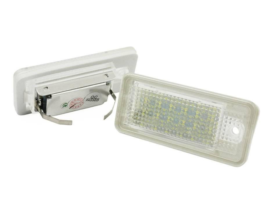 015s28 Podświetlenie Tablicy Rejestracyjnej Led Audi A3 S3